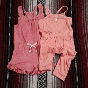 Toddler girl jumpsuit bundle